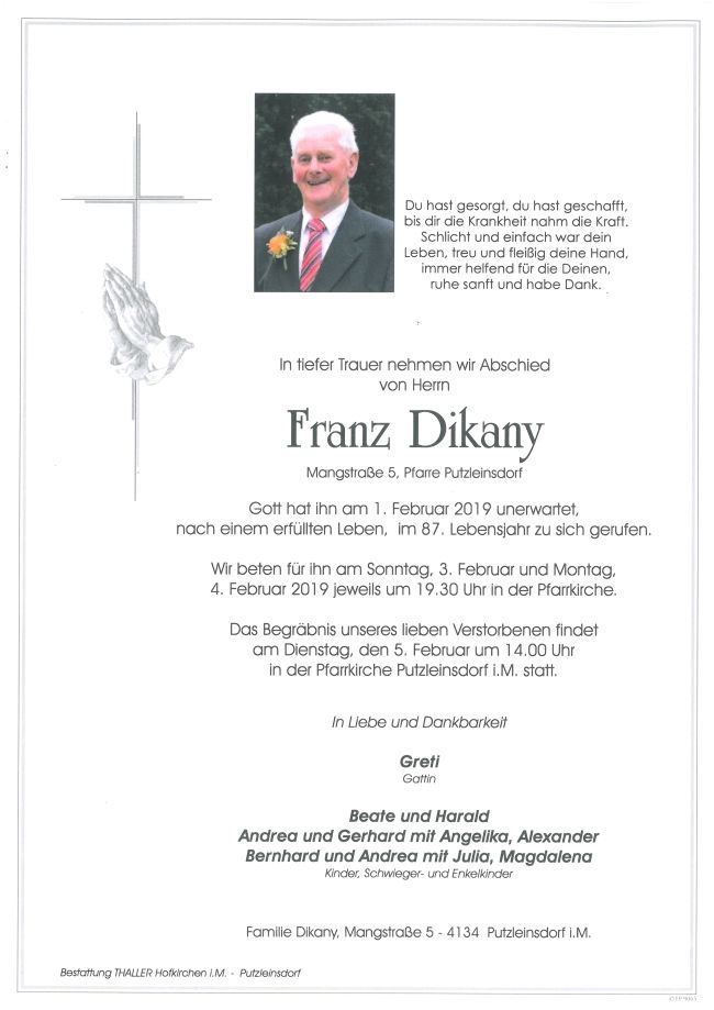 Parte Dikany Franz