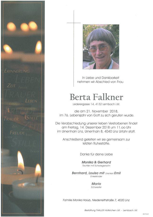 Parte Falkner Berta