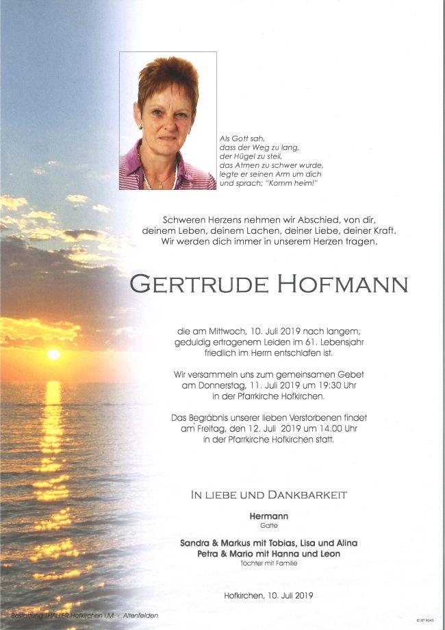 Parte Hofmann Gertrude