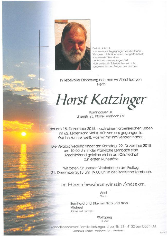 Parte Katzinger Horst