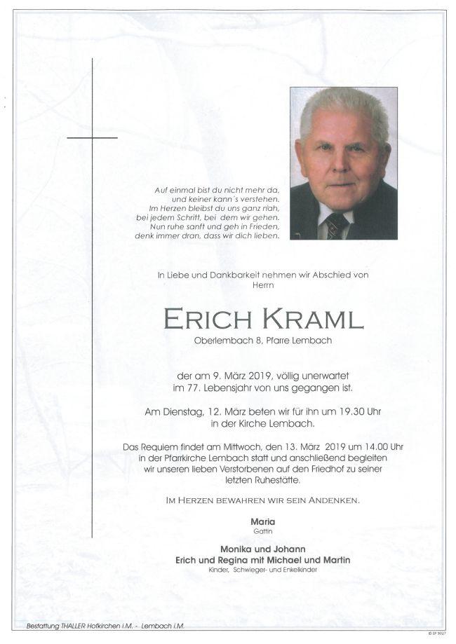 Parte Kraml Erich Lembach