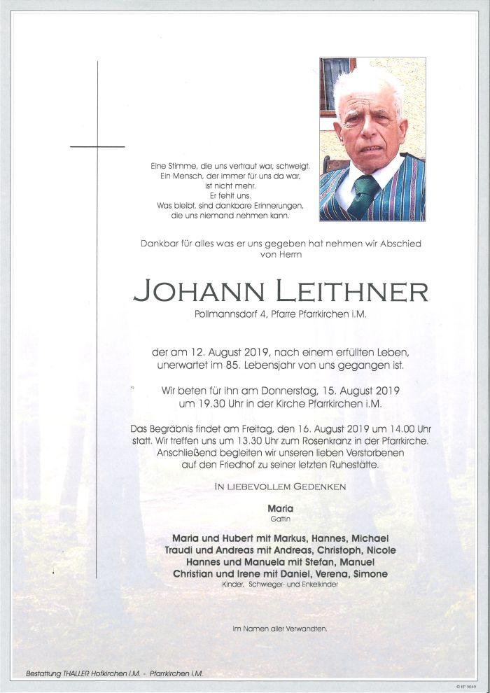 Parte Leithner Johann