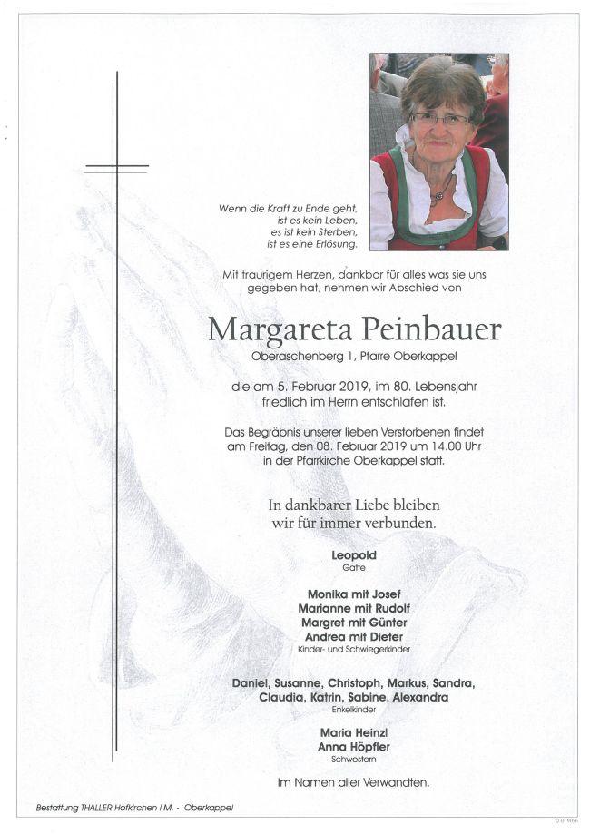 Parte Peinbauer Margareta