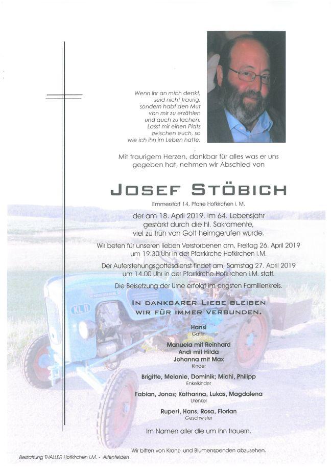 Parte Stöbich Josef