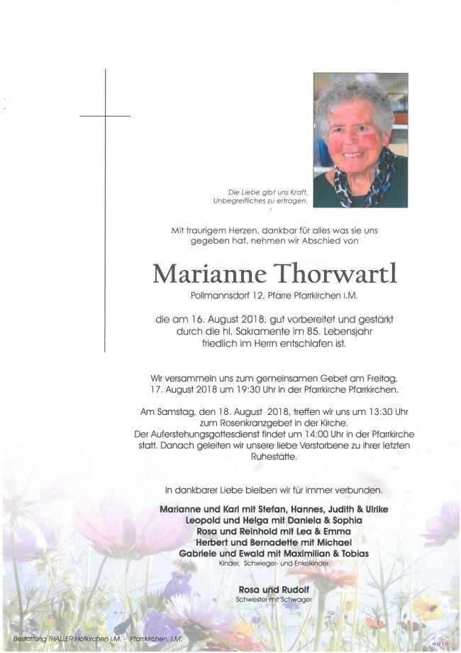 Parte Thorwartl Marianne
