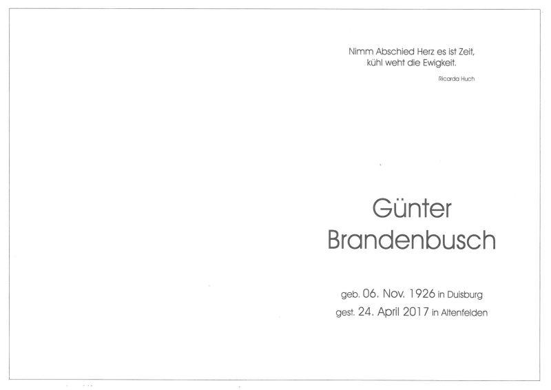 Parte Brandenbusch Günter