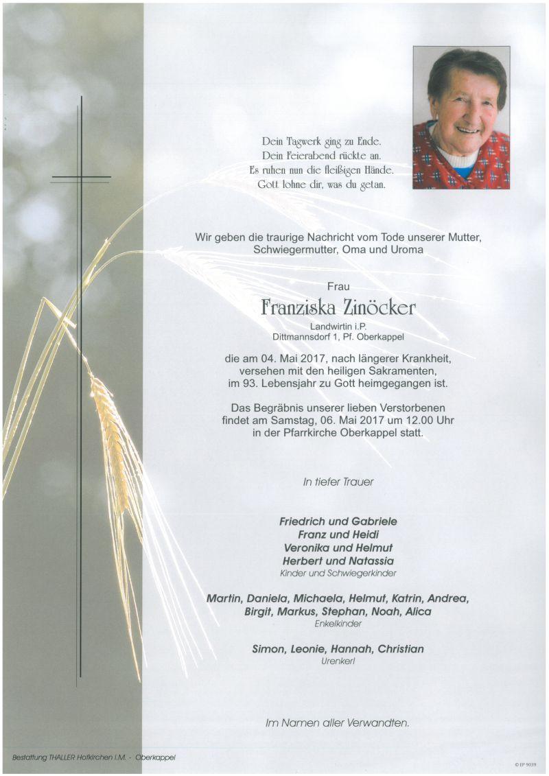 Parten Zinöcker Franziska