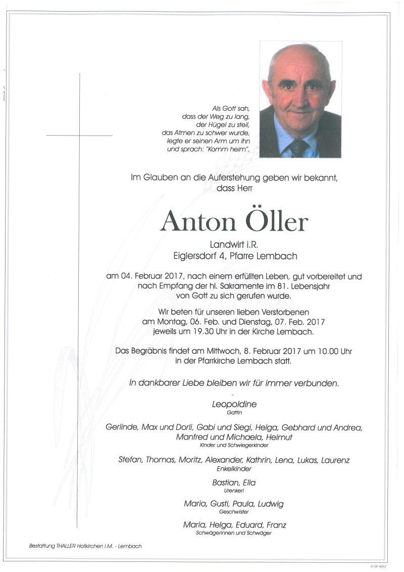 Parten Öller Anton