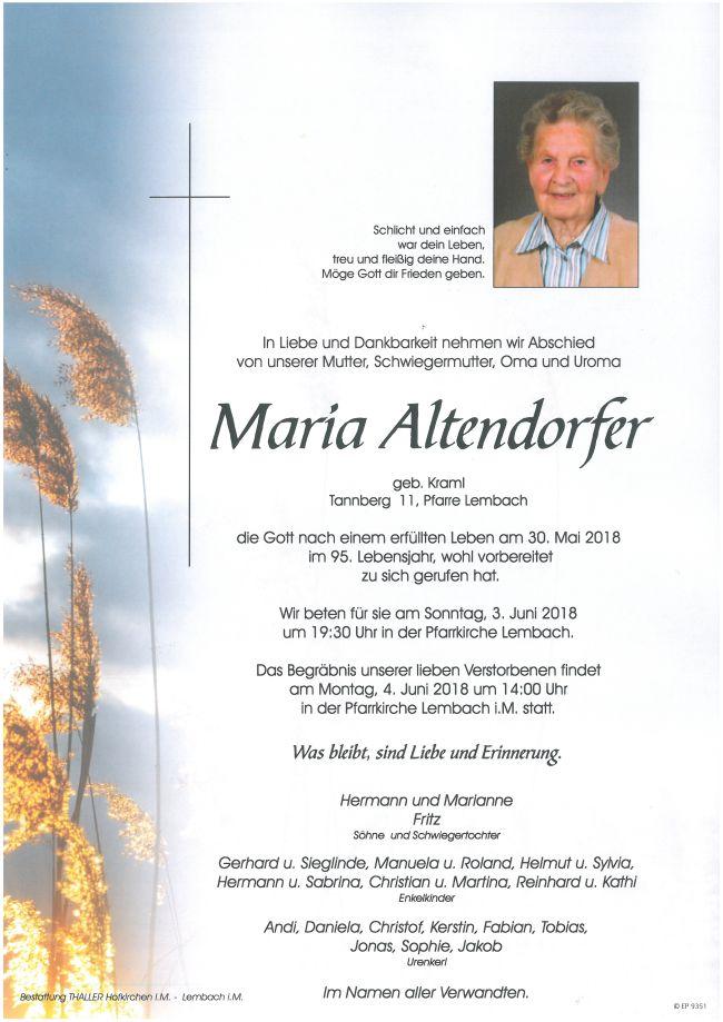 Parten Altendorfer Maria