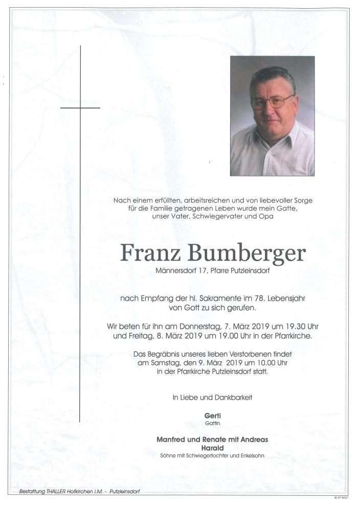 Parten Bumberger Franz