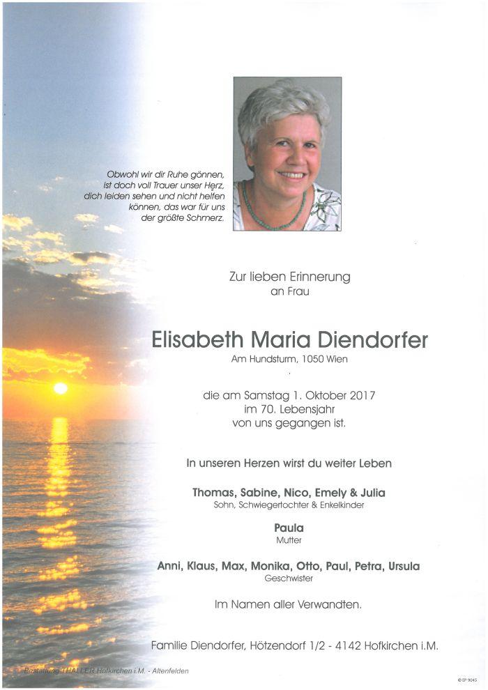 Parten Diendorfer Elisabeth