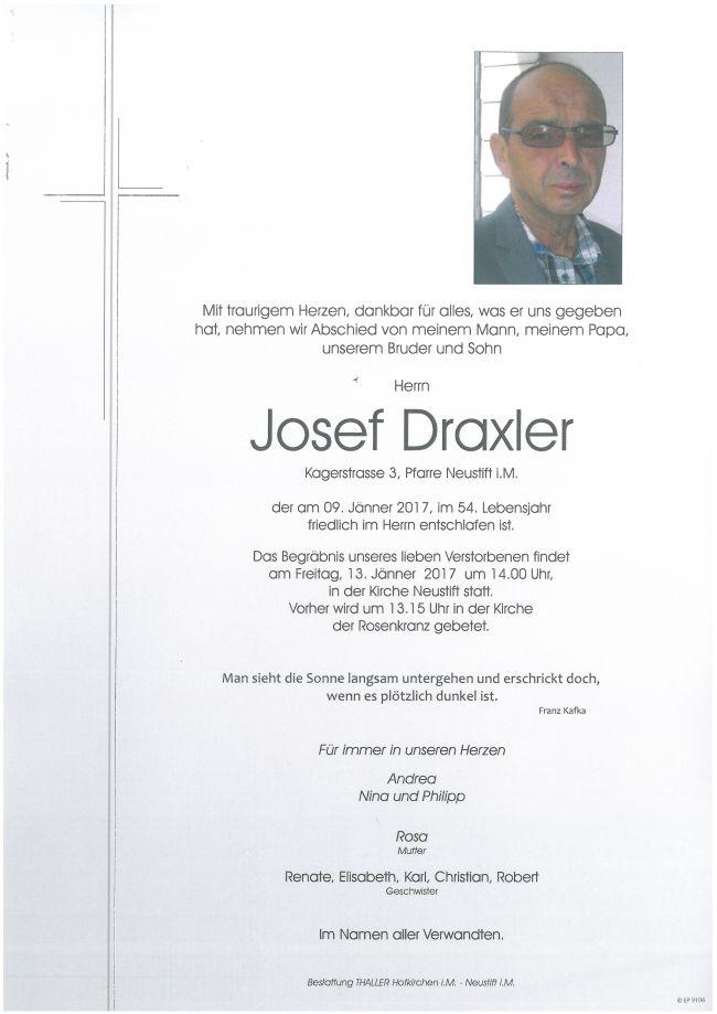 Parten Draxler Josef