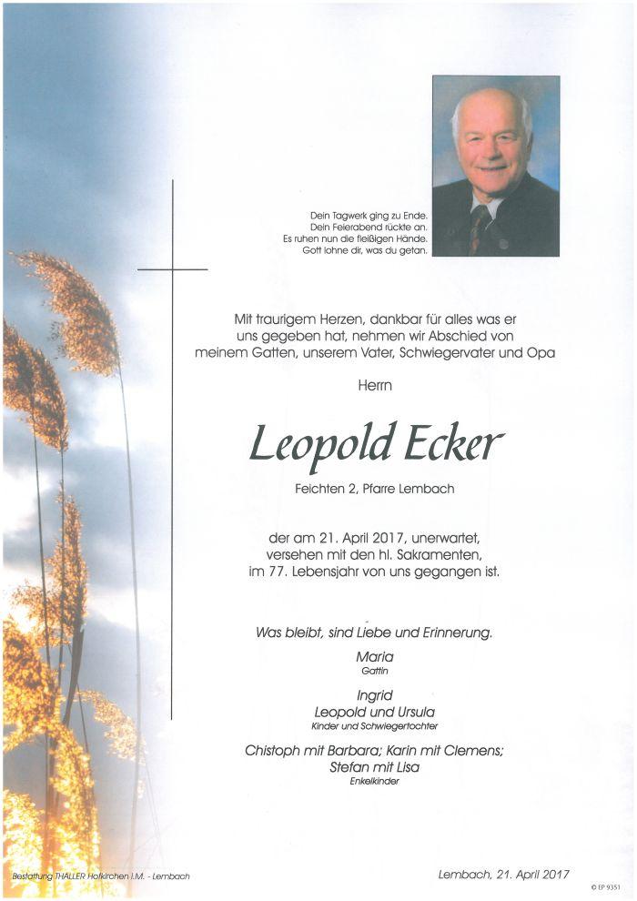 Parten Ecker Leopold