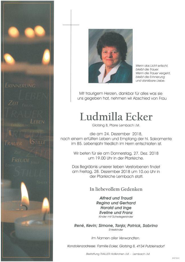 Parten Ecker Ludmilla