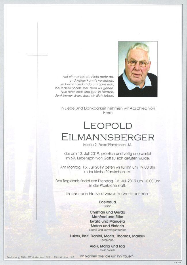 Parten Eilmannsberger Leopold