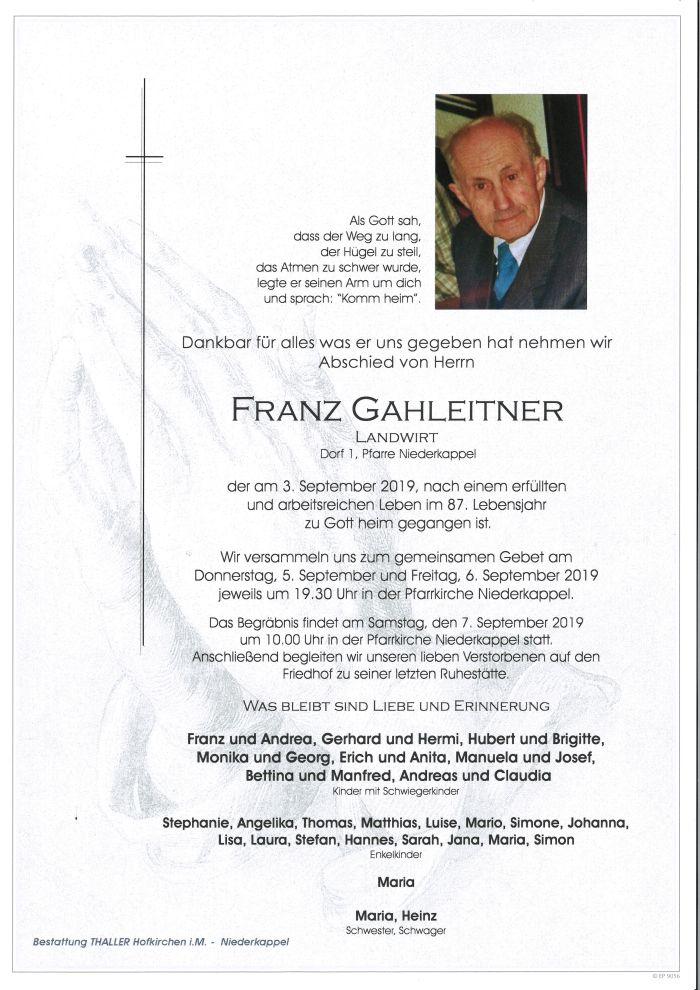 Parten Gahleitner Franz