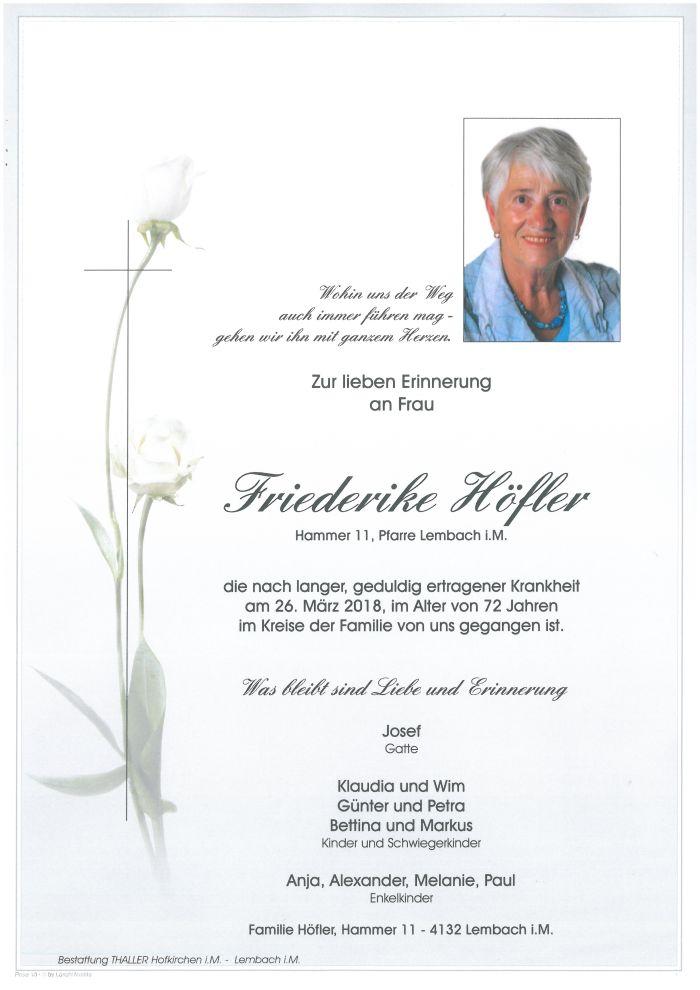 Parten Höfler Friederike