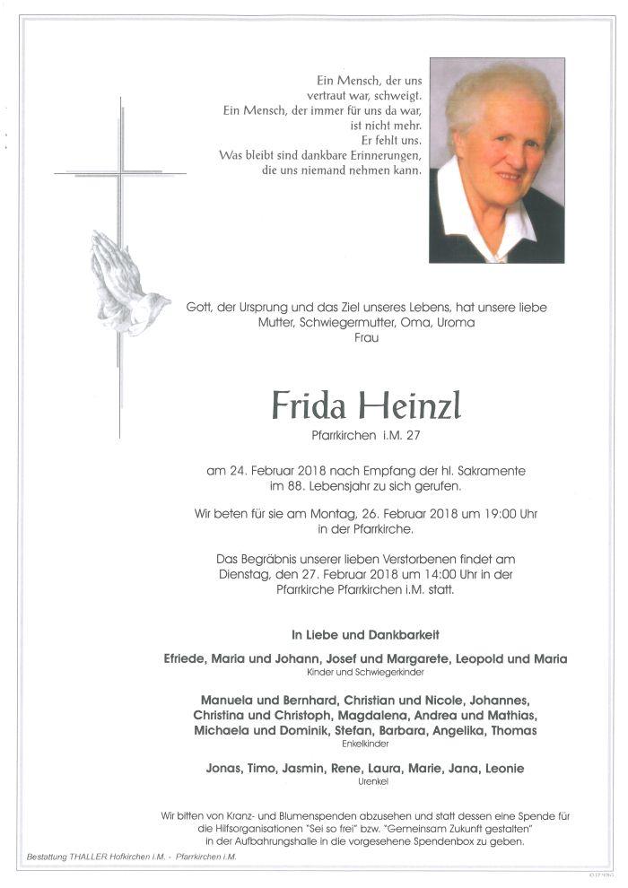Parten Heinzl Frida