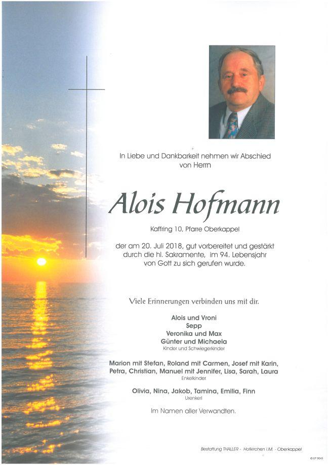 Parten Hofmann Alois