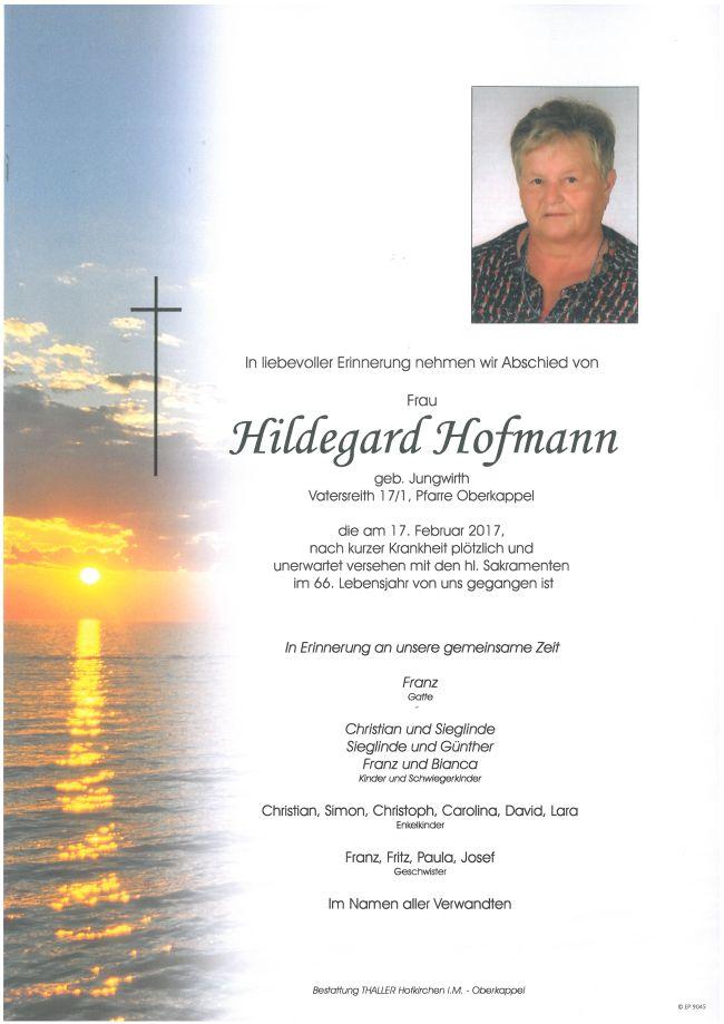 Parten Hofmann Hildegard