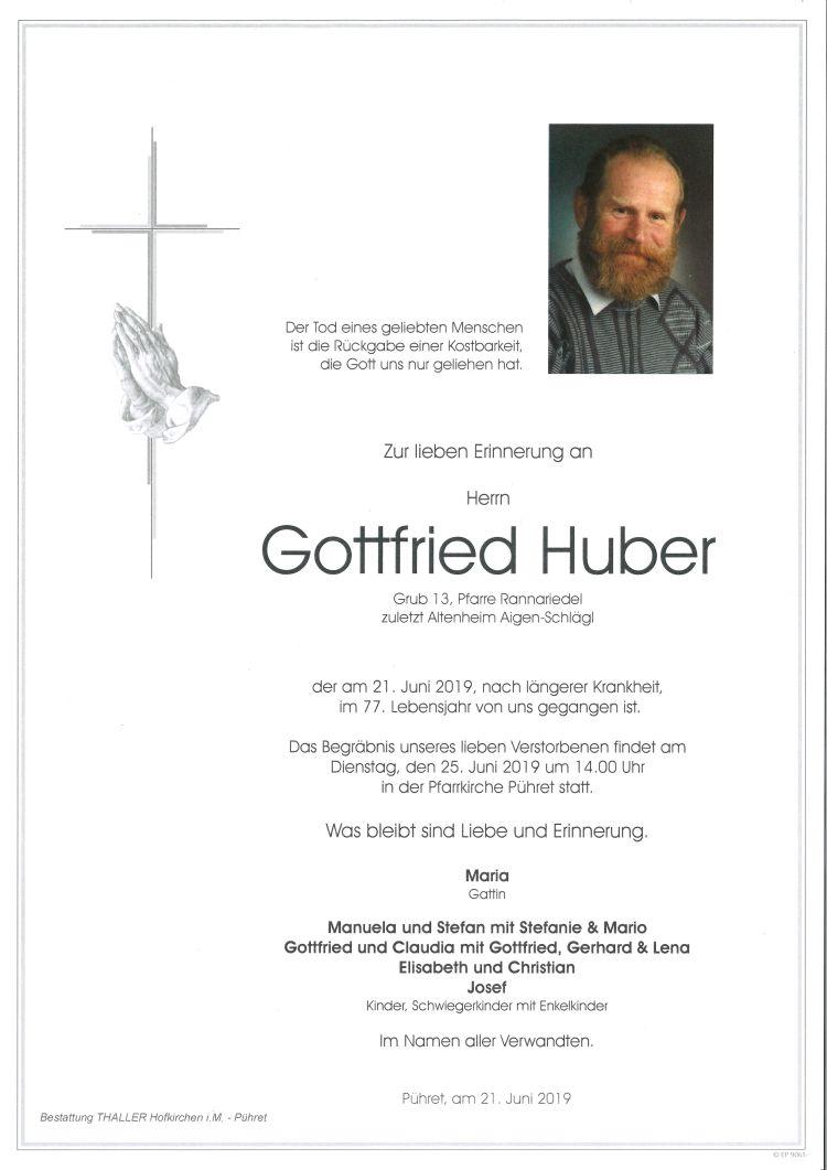 Parten Huber Gottfried
