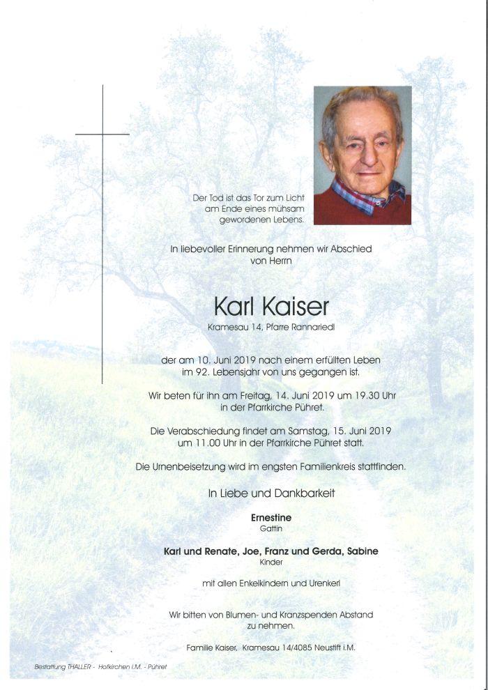 Parten Kaiser Karl
