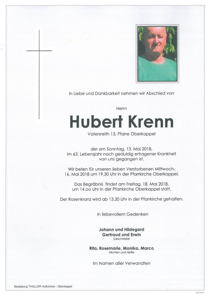 Parten Krenn Hubert