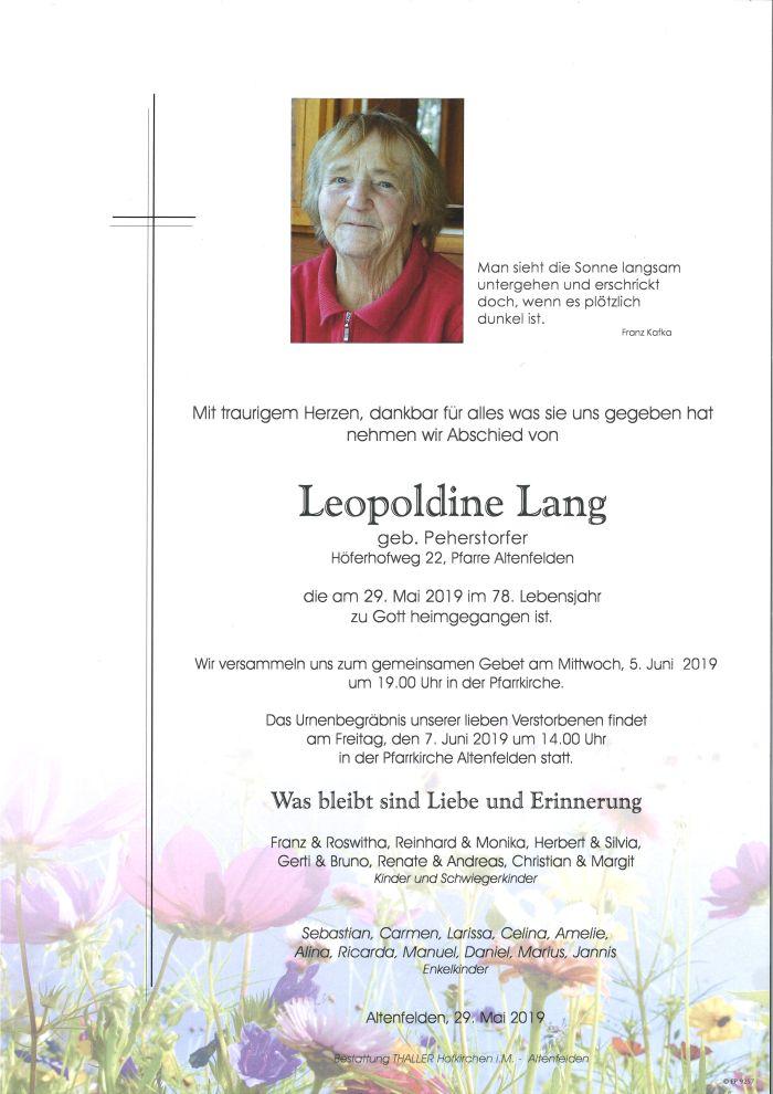 Parten Lang Leopoline