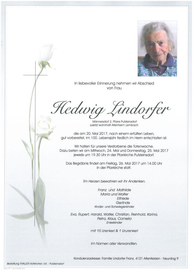 Parten Lindorfer Hedwig