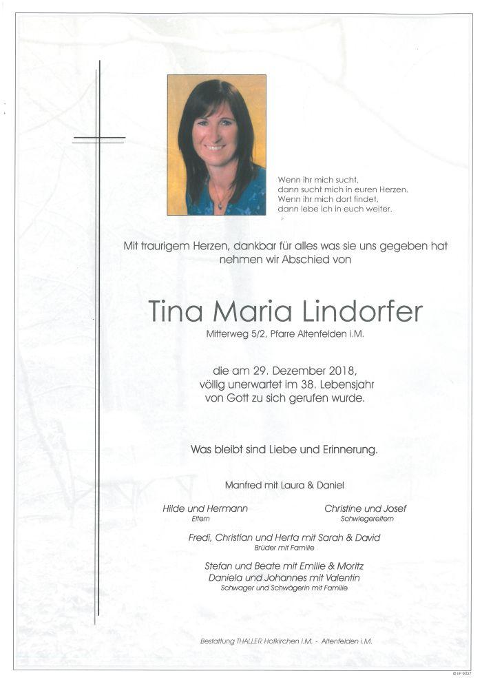 Parten Lindorfer Tina Maria