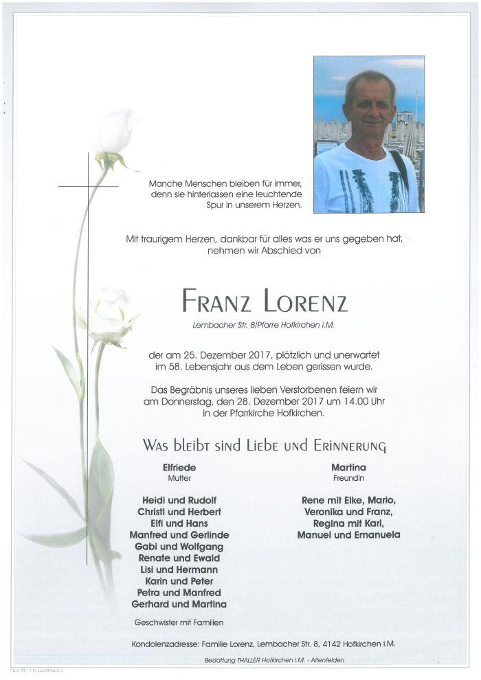 Parten Lorenz Franz