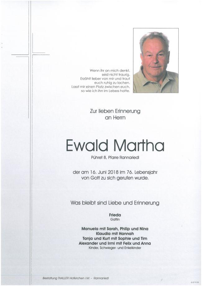 Parten Martha Ewald
