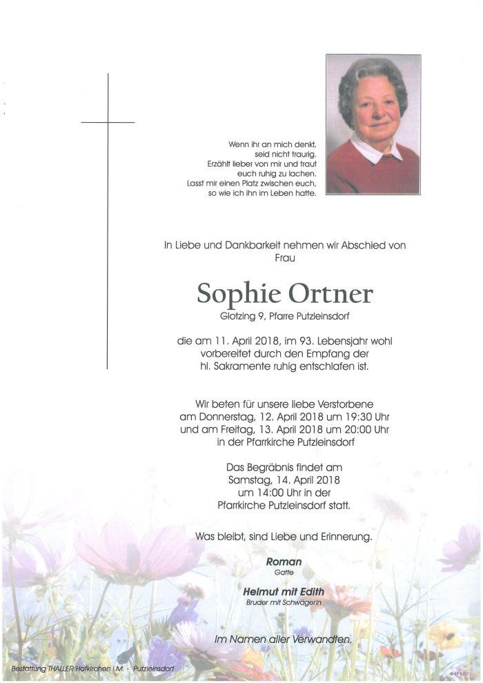 Parten Ortner Sophie