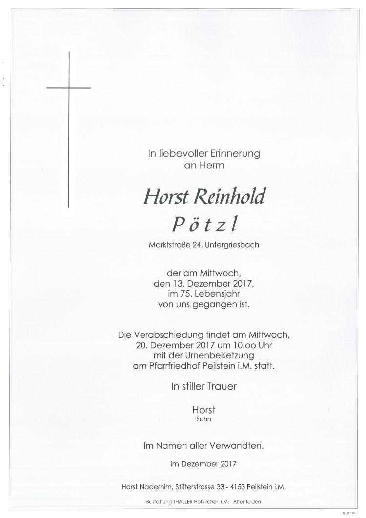 Parten Pötzl Horst Reinhold
