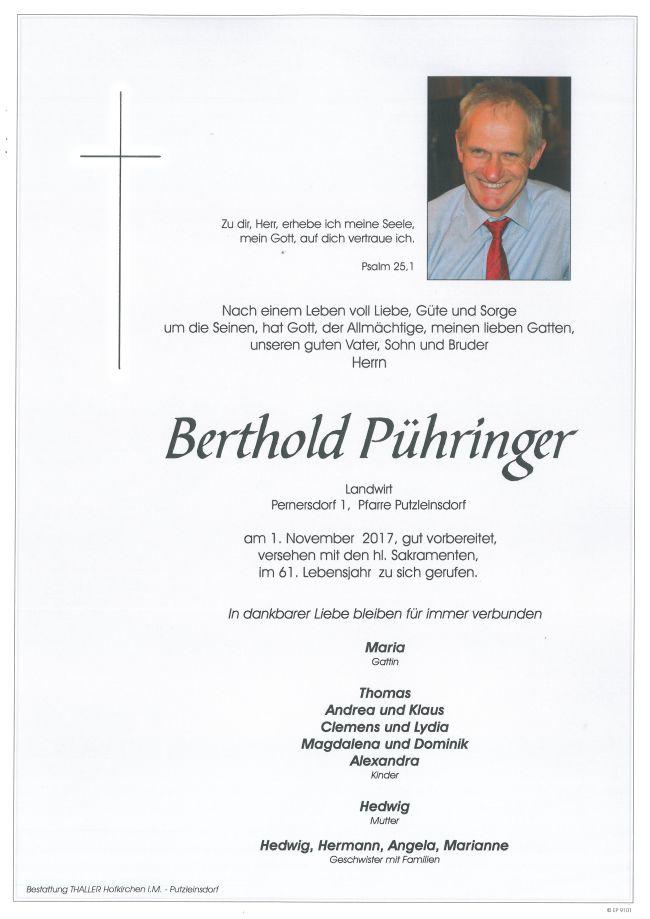 Parten Pühringer Berthold