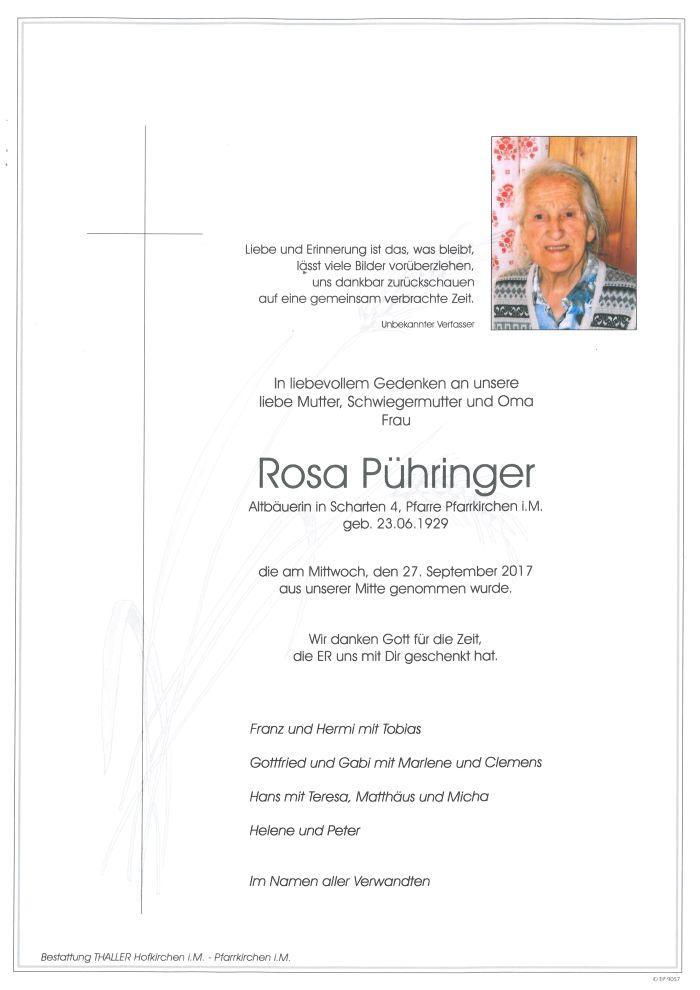 Parten Pühringer Rosa