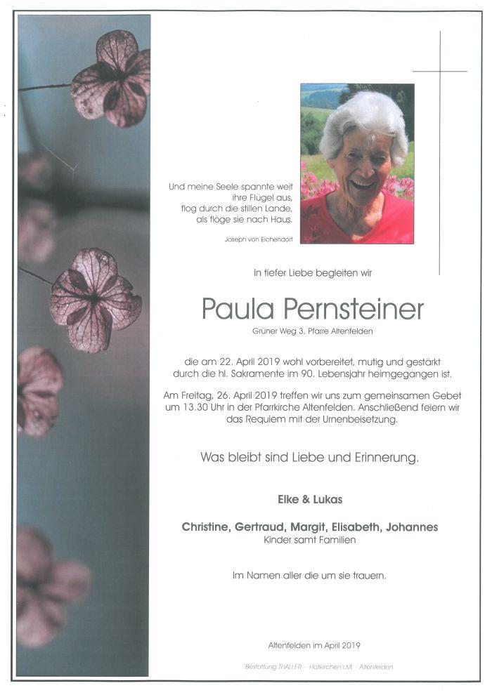 Parten Pernsteiner Paula