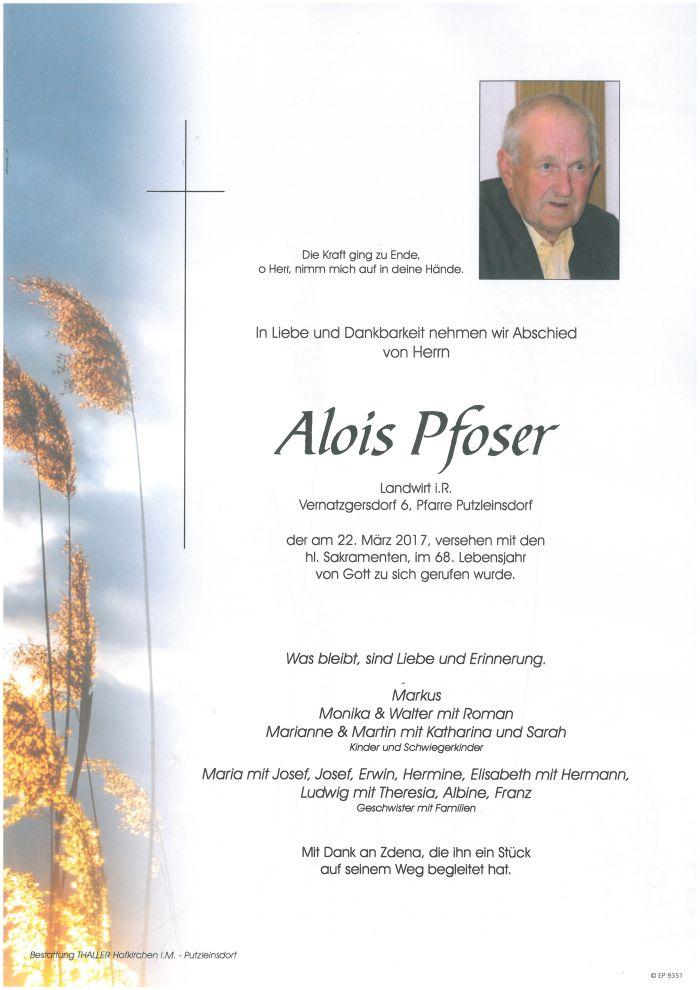 Parten Pfoser Alois