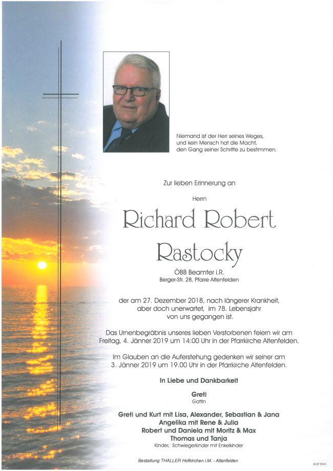 Parten Rastocky Richard Robert