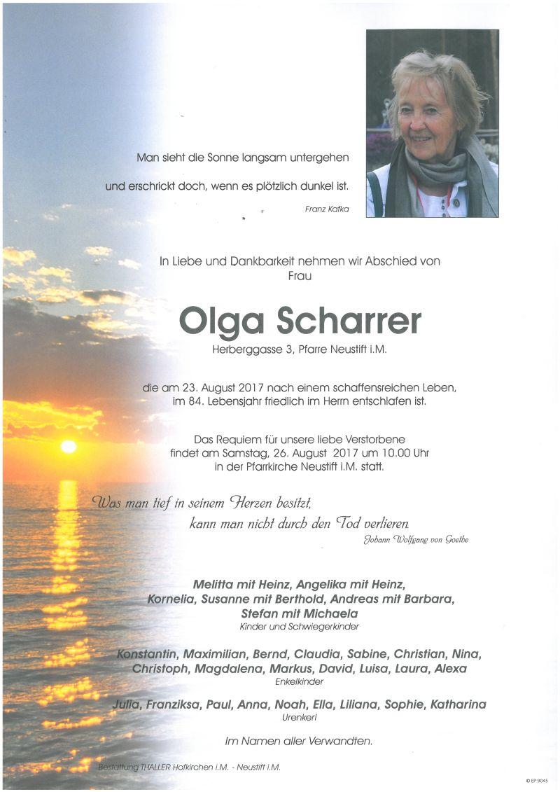 Parten Scharrer Olga