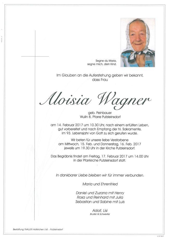 Parten Wagner Aloisia