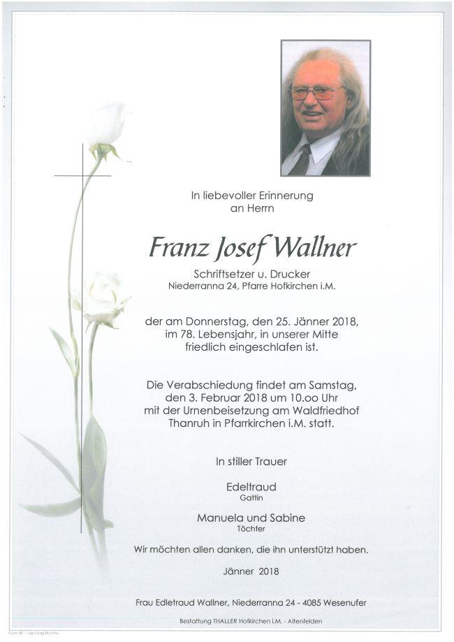 Parten Wallner Franz Josef