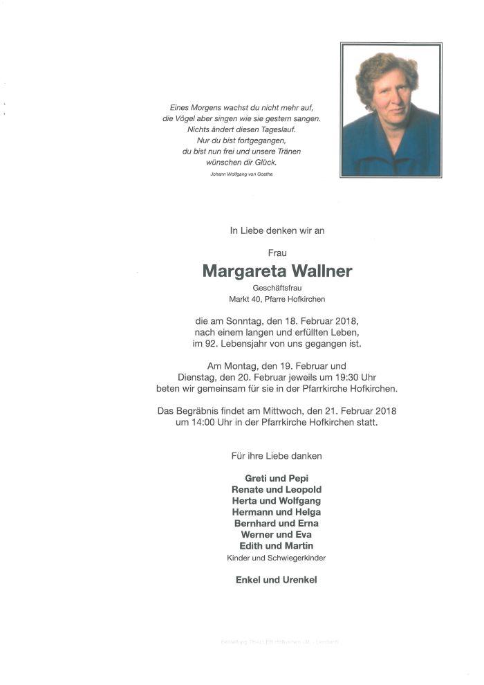 Parten Wallner Margareta