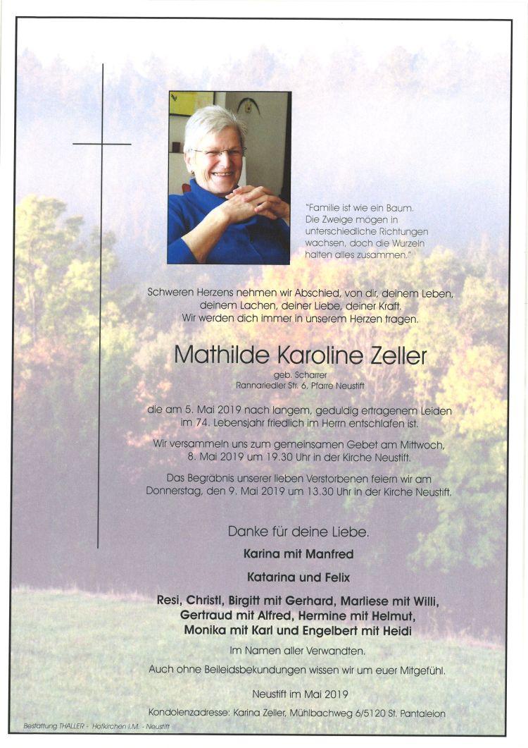 Parten Zeller Mathilde Karoline