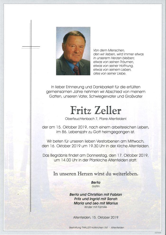 Parte Fritz Zeller