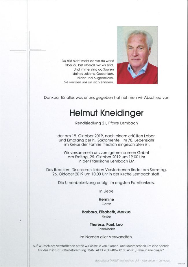 Parte Kneidinger Helmut