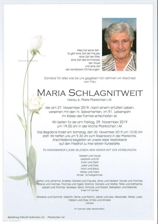 Parte Maria Schlagnitweit