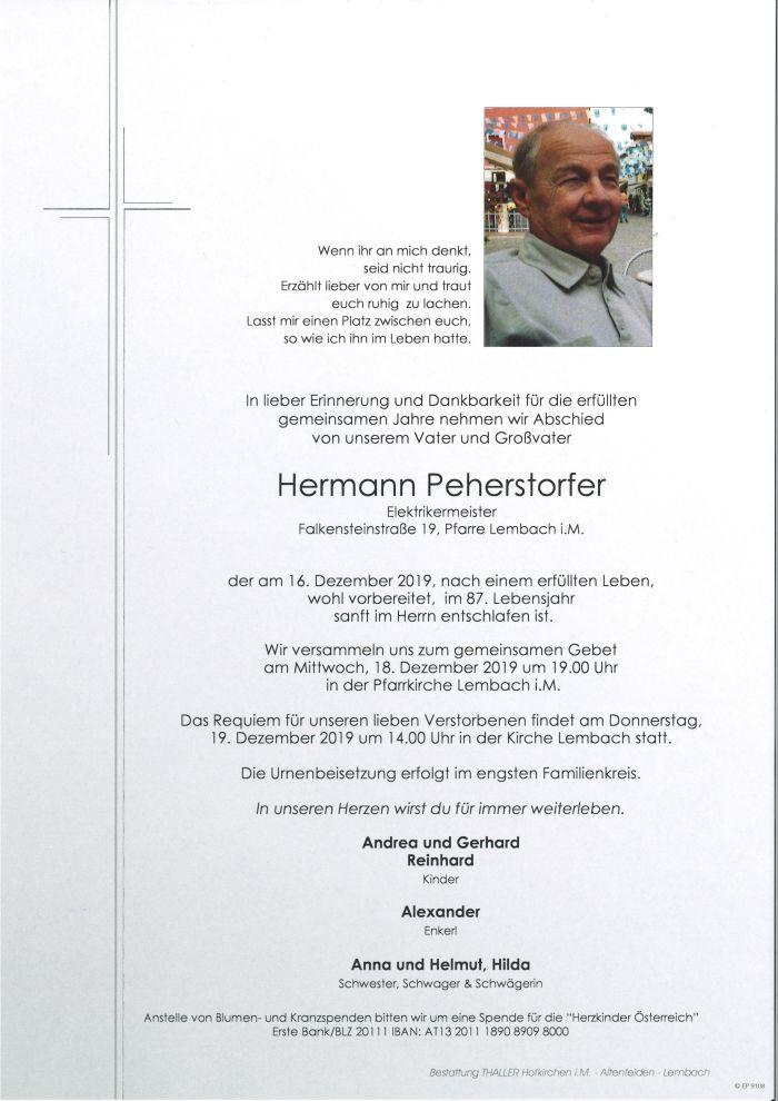 Parten Peherstorfer Hermann