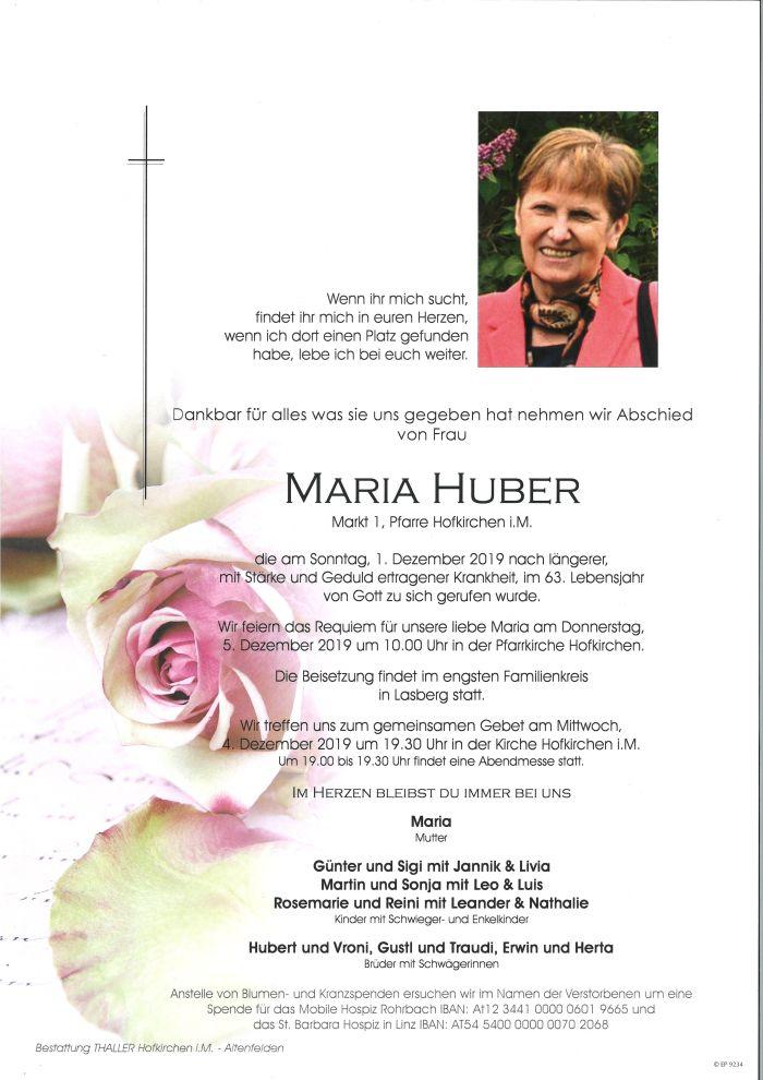 Parten Huber Maria