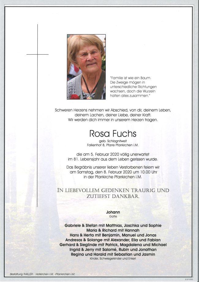 Parten Fuchs Rosa